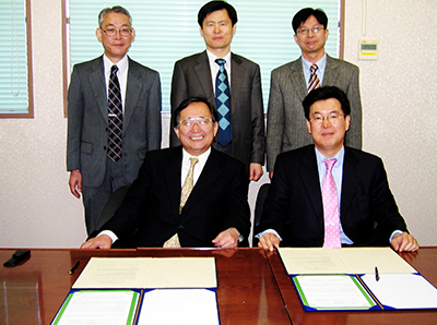 11. 한일 약학회 MOU  체결(2008. 3. 17)